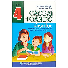 Các Bài Toán Đố Chọn Lọc 4