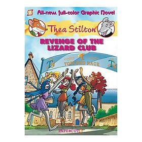 Thea Stilton Graphic Book 2: Revenge Of The Lizard Club