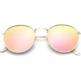 Men's Casual Colorful Eyeglasses Round Color Flim Classic Eyewear Sunglasses