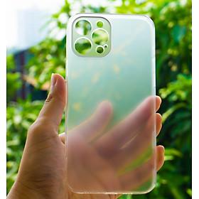 """Ốp Lưng Cường Lực Viền Trong Suốt Dùng Cho iPhone 12 Pro Max (6.7"""") Bảo Vệ Full Camera - Hàng Chính Hãng CAFELE"""
