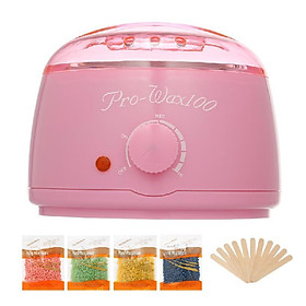 Pro Warmer Wax Heater 500cc SPA Hand Epilator Feet Paraffin Heater Body Depilatory Hair Removal Tool Bean Kit