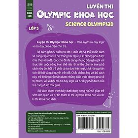 Luyện Thi Olympic Khoa Học-Science Olympiad 3