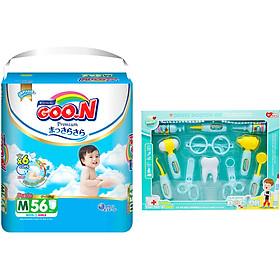 Tã Quần Goo.n Premium Gói Cực Đại M56 (56 Miếng) - Tặng Bộ đồ chơi bác sĩ