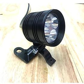 Combo đèn led trợ L4 + lens + pat cho ánh sáng tỏa