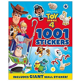 Disney Pixar Toy Story 4 1001 Stickers (1001 Stickers Disney)