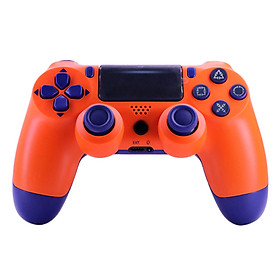 P4 BT Game Handle USB Wirelessly Rechargeable Gaming Controller Gamepad Replacement for PC/P-S-4/PS3