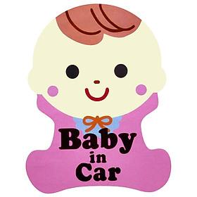 Tem Phản Quang Cho Ô Tô Baby In Car