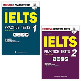 Combo IELTS Practice Tests: 1 + 2 (Bộ 2 Tập)
