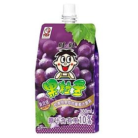 Nước ép trái cây tổng hợp loại Want Want (300ml) (nước ép nho*2+ổi*2) (4 gói/ set)