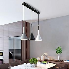 Đèn thả bàn ăn, phòng ăn hiện đại ELYA 3 bóng ngang cao cấp