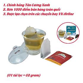 Trà túi lọc Olong sữa Tân Cương Xanh - Trà olong sữa đặc biệt pha trà sữa, trà tắc ngon
