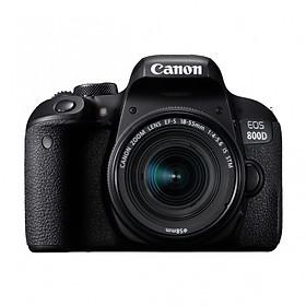 Máy Ảnh Canon 800D Kit 18-55mm IS STM - ( Hàng nhập khẩu ) - Tặng Thẻ 16GB + Tấm Dán LCD