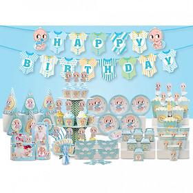 Bộ phụ kiện sinh nhật Mega em bé