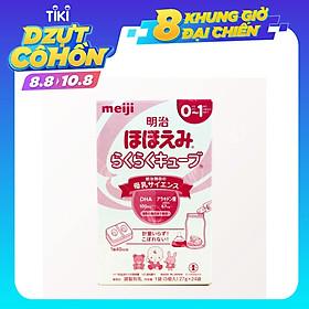 Sữa Meiji Số 0 Dạng Thanh Cho Trẻ Từ 0 Đến 12 Tháng Tuổi (24 thanh)