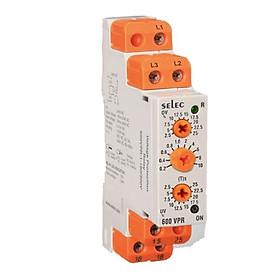 SELEC 600VPR - 310 / 520 (3 pha) - Rơ le bảo vệ điện áp