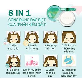 Phấn Phủ Kiềm Dầu Trong Suốt Cathy Doll Oil Control Film Pact 12G #Translucent (12g)-15