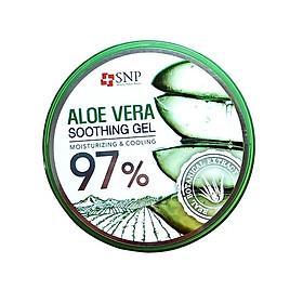 Gel Dưỡng Ẩm Dịu Da Chiết Xuất Nha Đam – SNP Aloe Vera Soothing Gel