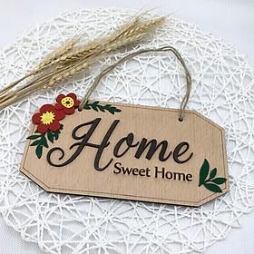 Bảng gỗ HOME SWEET HOME