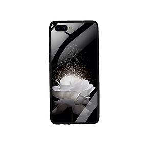 Ốp Lưng Kính Cường Lực cho điện thoại Realme C1 - 0324 ROSE03