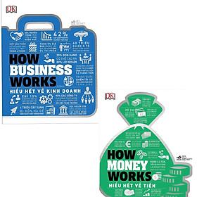 Combo 2 Cuốn Cẩm Nang : How Money Works - Hiểu Hết Về Tiền + How Business Works - Hiểu Hết Về Kinh Doanh/ BooksetMK  ( Bách Khoa về Kinh Doanh , Tiền )