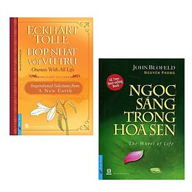 Combo Sách Nghệ Thuật Sống Đẹp: Hợp Nhất Với Vũ Trụ + Ngọc Sáng Trong Hoa Sen (Tái Bản)