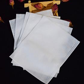 Set 100 túi lọc trà vải không dệt- sản phẩm có nhiều kích thước