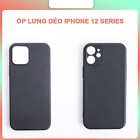 Ốp Lưng TPU Dẻo Màu Dành Cho iPhone 12, 12 Mini, 12 Pro, 12 Pro Max- Hàng Chính Hãng