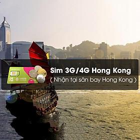 Sim 4G Hong Kong Sử Dụng 5 Ngày (Nhận Tại Sân Bay Quốc Tế Hong Kong)
