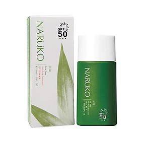 Kem Chống Nắng Naruko Tràm Trà Tea Tree Anti-Acne Sunscreen SPF50 Bản Đài (30ml)