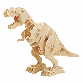 Mô Hình Gỗ Robotime Khủng Long T-Rex (Âm Thanh) D210