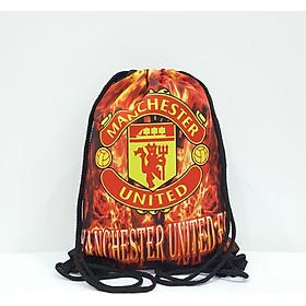 Balo dây rút Football TROY FB in logo câu lạc bộ bóng đá MU Manchester United