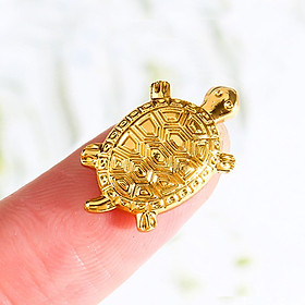 Lucky Charm Golden Turtles Mini Plating Alloy Mobile Phone Portable