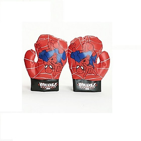Bộ 2 găng tay tập võ thuật cho bé+ Tặng kèm bao bố+ Tặng 2 món quà như hình- Găng tay tập võ- Găng tay boxing, đấm bốc