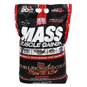 Sữa Tăng Cân Vị Chocolate Mass Muscle Gainer Vị Elite Labs SMEL103 (9.09kg)