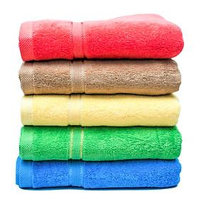 Khăn tắm sợi tre 1 mét (giao màu ngẫu nhiên)- Số lượng 01 cái