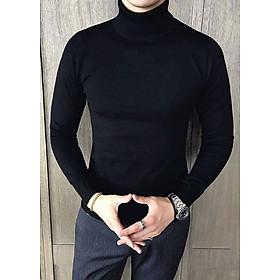 Áo cổ lọ len nam nữ T12