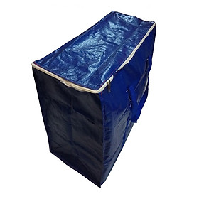 ĐỦ SIZE - Túi bạt, túi dứa có dây kéo đựng đồ, quai xách màu ngẫu nhiên (may từ vải bạt chính hãng Tú Phương)