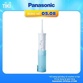 Máy tăm nước cầm tay Panasonic dùng pin EW-DJ10 - Hàng Chính Hãng