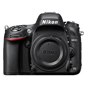 Máy Ảnh Nikon D610 24.3MP Body (Đen) - Hàng Nhập Khẩu