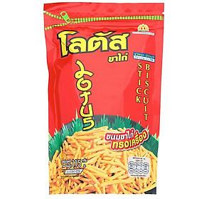 Gói Snack Bim Bim Lớn Cực Đại Bánh Que Dorkbua Lotus Vị Tôm Đỏ (115g /gói) Thái Lan