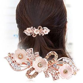 Kẹp tóc sau - kẹp tóc đính đá hoa