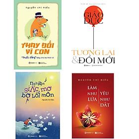 Combo 04 quyển sách Nguyễn Chí Hiếu
