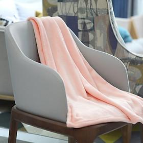 Chăn ngủ văn phòng lông cừu mềm mịn cao cấp cỡ 100x150cm