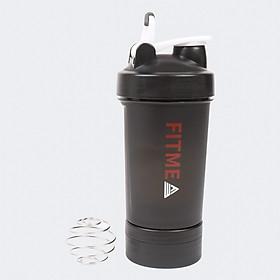 Bình nước thể thao tập gym Fitme 4 trong 1 (500ml)