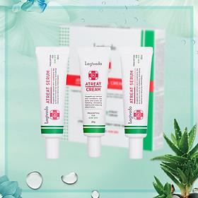 Bộ Sản Phẩm Dưỡng Da, Giúp Làm Sáng Da & Ngừa Mụn: Lagivado Dr.Atreat Serum & Cream Set