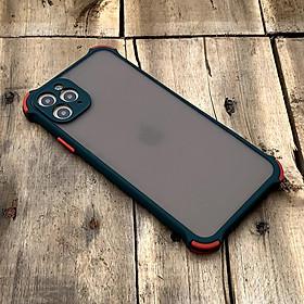 Ốp lưng chống sốc toàn phần dành cho iPhone 11 Pro Max - Màu xanh lá đậm