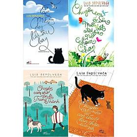 Combo 4 cuốn đồng tác giả: Chuyện con mèo dạy hải âu bay, Chuyện con mèo con chuột và bạn thân của nó, chuyện con ốc sên, chuyện chú chó tên là trung thành tặng 1 thẻ flash card ngẫu nhiên trong hình