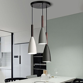 Đèn thả bàn ăn, phòng khách trang trí cao cấp PUCA lamp bộ 3 đèn