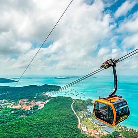 Tour Nam Đảo Phú Quốc & Cáp Treo Hòn Thơm 01 Ngày, Khởi Hành Hàng Ngày, Đón Trung Tâm Dương Đông