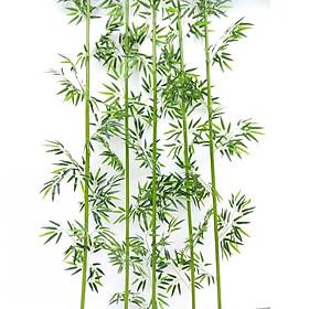 5 cây trúc giả nhiều lá như cây trúc thật